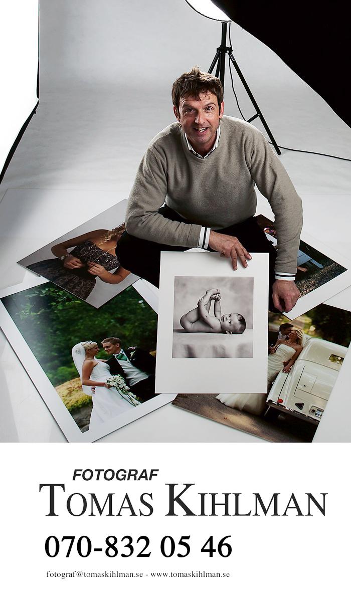 Jag samarbetar med fotograf Tomas Kihlman