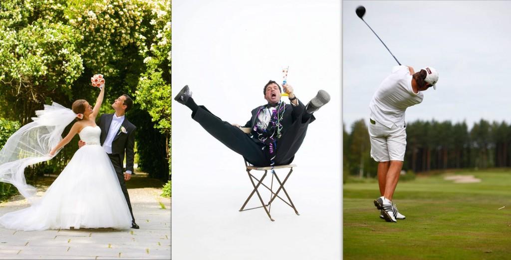 Några specialiteter - Bröllop - Fest - Golf