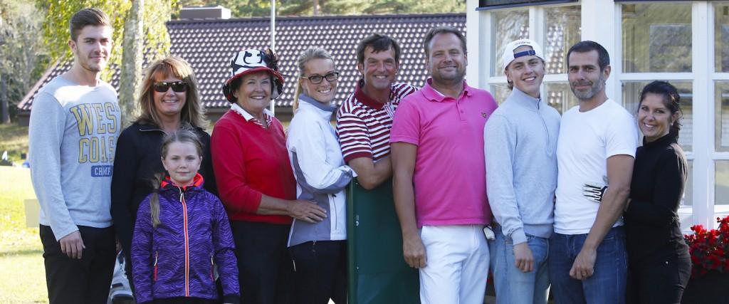 Oliver Björkqvist, Helena Löwengren, Jenna Lind, Gunnel Thunström, Sara Thunström, Tomas Kihlman, Ulric Thunström, William Björkqvist, Håkan Lillis Sidén och Therese Thunström. Oliver, Jenna och Viktor Englund (saknas på bilden) spelade inte.