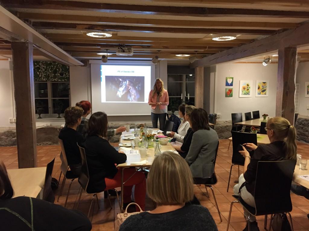 Karin Bjärle föreläser